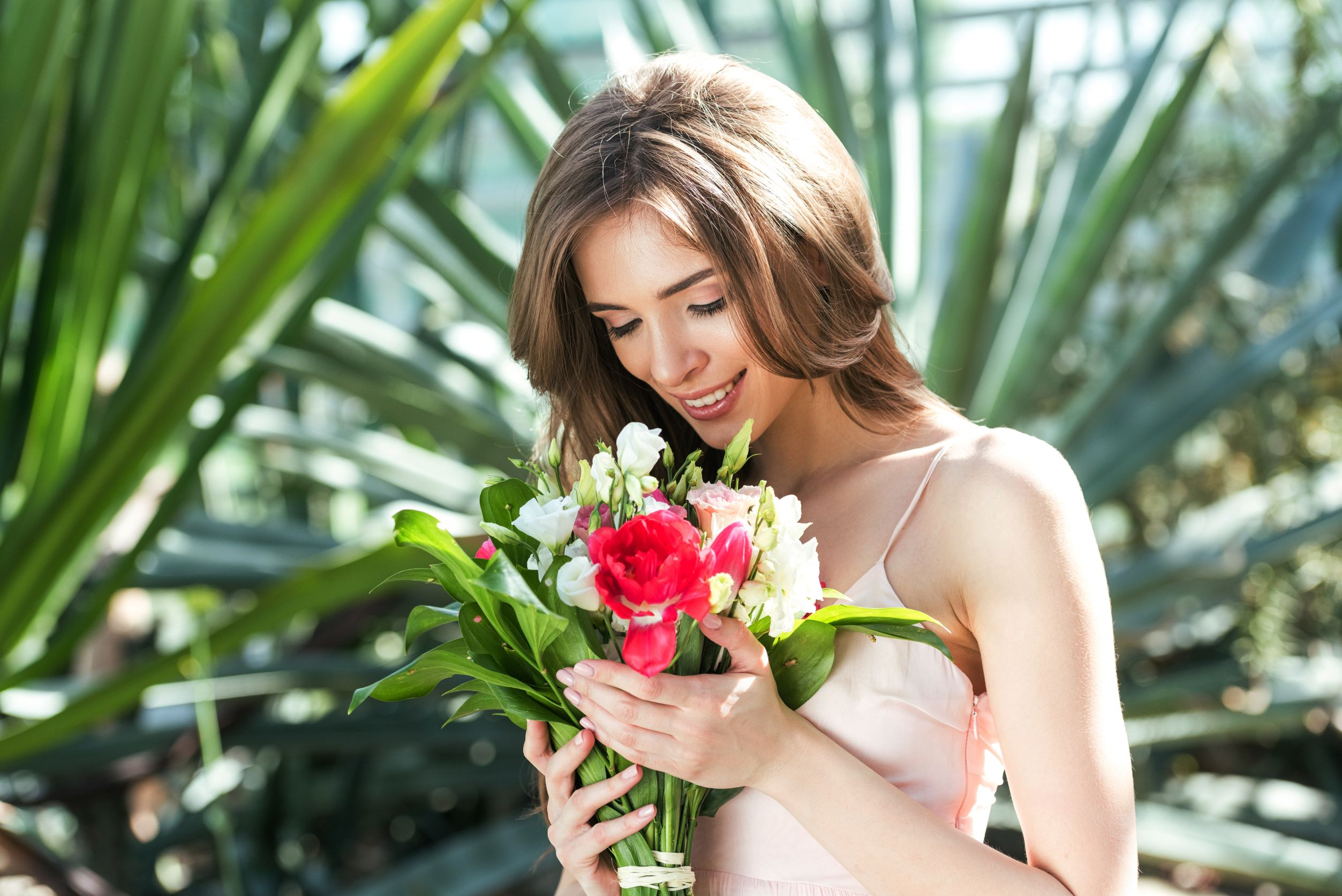 Sorprenderla con i fiori a roma